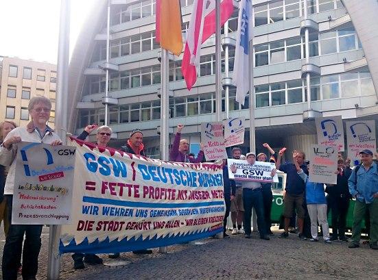 7 Juli Protest Gegen Deutsche Wohnen Update Kotti Co